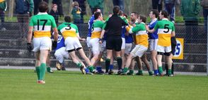 Carrickmore during friendly