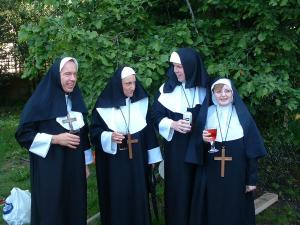 Nuns up for the craic