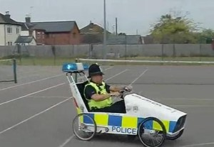 Cop in Galbally this morning, wrecking about.