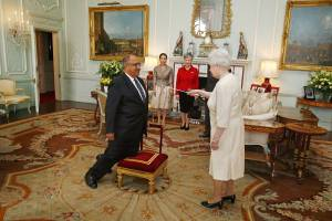 Hill Man Knighted?