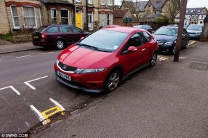 No parking on these yellow lines in Coalisland