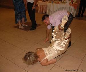 Brutal crash in dance, Brutal Crash im Tanz, Accident brutal dans la danse