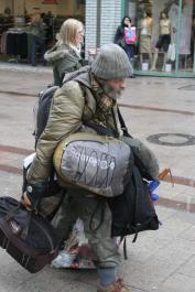 Brackaville Man Doing Shopping For A Newmills Woman