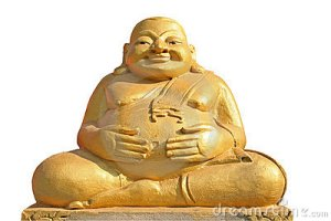 Typical Clonoe Man or Buddha?