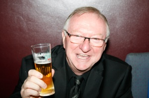 Dennis Taylor - brilliant at taking up trousers