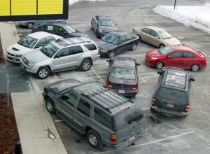The new parking system