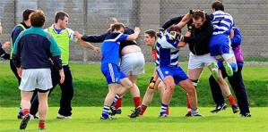 Player wearing earphones caused this brawl in Dromore