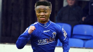 Artist's impression of how Raheem might look v Loughgall in a friendly